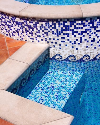 Tile savers cleaning process tile savers - Swimming pool tile cleaning machine ...